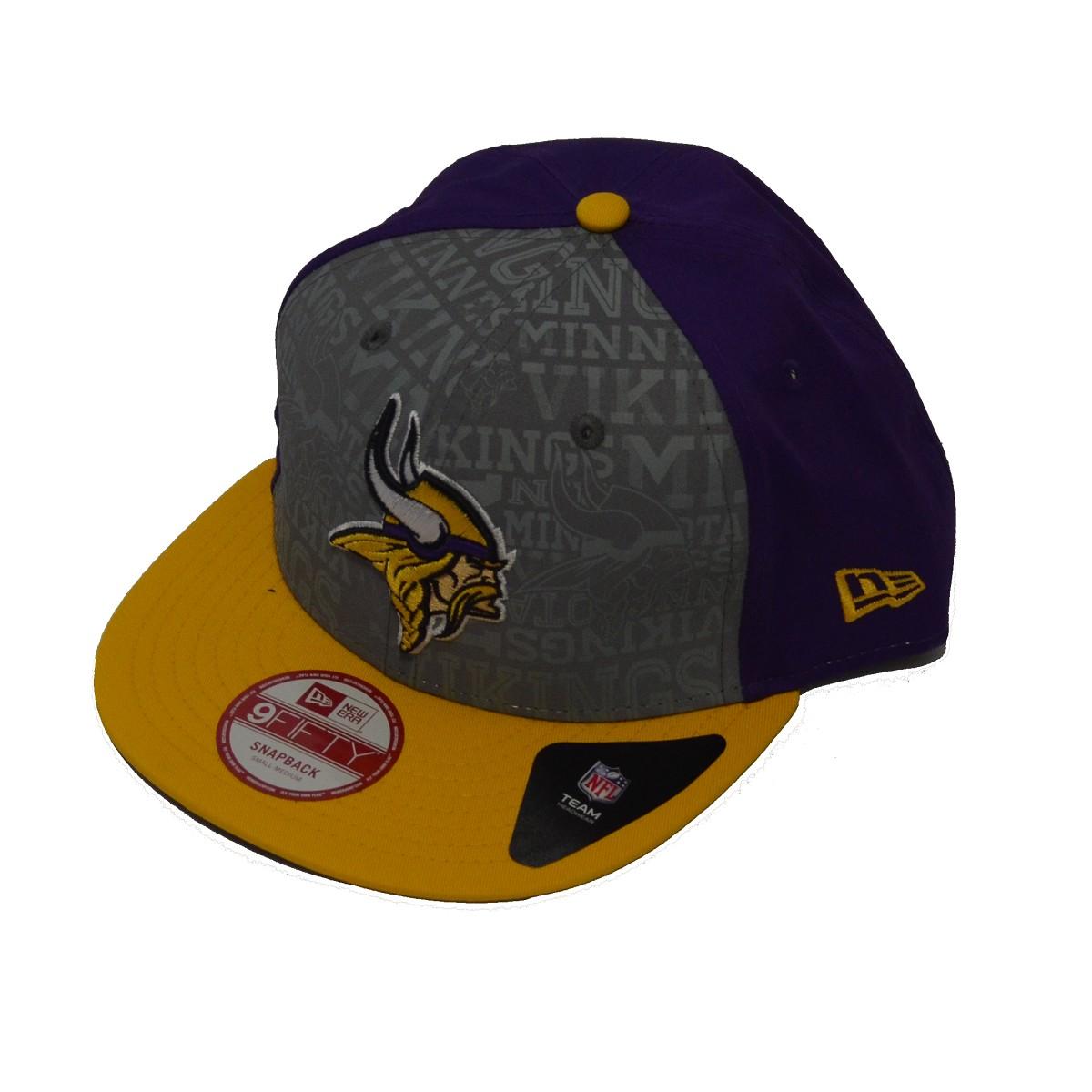 Cappello New Era 9fifty Draft 14 Minnesota Vikings 9fifty