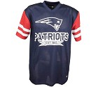 TSHIRT NEW ERA CONTRAST SLEEVE OS  NEW ENGLAND PATRIOTS