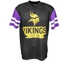 TSHIRT NEW ERA CONTRAST SLEEVE OS  MINNESOTA VIKINGS