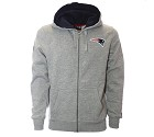 FELPA NEW ERA NFL FULL ZIP HOODY  NEW ENGLAND PATRIOTS