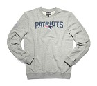 FELPA NEW ERA NFL TEAM SCRIPT CREWNECK  NEW ENGLAND PATRIOTS