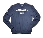 FELPA NEW ERA NFL TEAM SCRIPT CREWNECK  SEATTLE SEAHAWKS