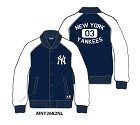 FELPA MAJESTIC MNY2682 LETTERMAN TRACK  NEW YORK YANKEES