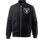 GIUBBOTTO NEW ERA NFL MELTON BOMBER  OAKLAND RAIDERS