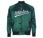 GIUBBOTTO MAJESTIC CASEY SATIN  ATHLETICS