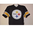 JERSEY NFL NEW ERA SUPPORTER TEE  PITTSBURGH STEELERS