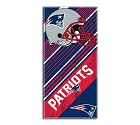 ASCIUGAMANO NFL STRIPE BEACH  NEW ENGLAND PATRIOTS