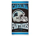 ASCIUGAMANO WINCRAFT FIBRE BEACH 75 X 150 CM  CAROLINA PANTHERS