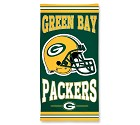 ASCIUGAMANO WINCRAFT FIBRE BEACH 75 X 150 CM  GREEN BAY PACKERS