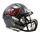 MINI HELMET RIDDELL REVO SPEED  TAMPA BAY BUCCANEERS