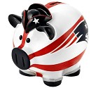 SALVADANAIO NFL PIGGY BANK  NEW ENGLAND PATRIOTS