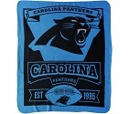 COPERTA NFL PILE  CAROLINA PANTHERS
