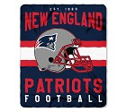 COPERTA NFL SINGULAR FLEECE  NEW ENGLAND PATRIOTS