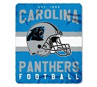 COPERTA NFL SINGULAR FLEECE   CAROLINA PANTHERS