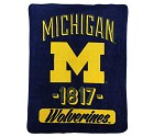COPERTA NORTHWEST VARSITY BLANKET NCAA UNIV.OF MICHIGAN