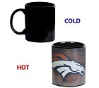 TAZZA FOREVER 11OZ HEAT CHANGE  DENVER BRONCOS