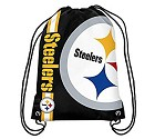 BORSA FOREVER CROPPED LOGO DRAWSTRING PITTSBURGH STEELERS