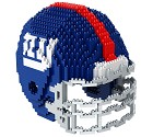 PUZZLE FOREVER 3D BRXLZ NFL TEAM HELMET  NEW YORK GIANTS