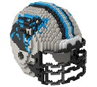 PUZZLE FOREVER 3D BRXLZ NFL TEAM HELMET  CAROLINA PANTHERS
