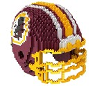 PUZZLE FOREVER 3D BRXLZ NFL TEAM HELMET  WASHINGTON REDSKINS