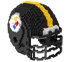 PUZZLE FOREVER 3D BRXLZ NFL TEAM HELMET  PITTSBURGH STEELERS