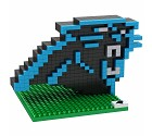 PUZZLE FOREVER 3D BRXLZ NFL TEAM LOGO  CAROLINA PANTHERS