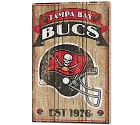 PANNELLO LEGNO WINCRAFT ESTABLISHED 38 X 61 CM TAMPA BAY BUCCANEERS