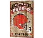 PANNELLO LEGNO WINCRAFT ESTABLISHED 38 X 61 CM CLEVELAND BROWNS
