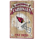PANNELLO LEGNO WINCRAFT ESTABLISHED 38 X 61 CM ARIZONA CARDINALS