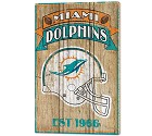 PANNELLO LEGNO WINCRAFT ESTABLISHED 38 X 61 CM MIAMI DOLPHINS