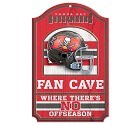 PANNELLO LEGNO WINCRAFT FAN CAVE 28 X 43 CM  TAMPA BAY BUCCANEERS