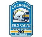 PANNELLO LEGNO WINCRAFT FAN CAVE 28 X 43 CM  SAN DIEGO CHARGERS