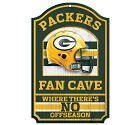 PANNELLO LEGNO WINCRAFT FAN CAVE 28 X 43 CM  GREEN BAY PACKERS