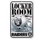 PANNELLO PLASTICA WINCRAFT LOCKER ROOM 27 X 42 CM  OAKLAND RAIDERS
