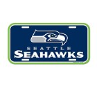 PANNELLO PLASTICA WINCRAFT LICENSE PLATE 15 X 30 CM  SEATTLE SEAHAWKS