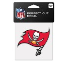 ADESIVO WINCRAFT LOGO SQUADRA NFL 10 X 10 CM  TAMPA BAY BUCCANEERS