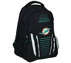 ZAINO FOREVER STRIPE FRANCHISE BACKPACK MIAMI DOLPHINS