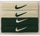 ACCESSORIO NIKE H&A DRYFIT BICEP BANDS  VERDE/BIANCO