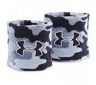 ACCESSORIO UNDER ARMOUR 1277600 JACQUARD WRISTBANDS  NERO GRIGIO