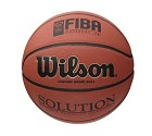 PALLONE WILSON B0616X SOLUTION FIBA  UFFICIALE