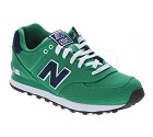 SCARPA NEW BALANCE ML574POG LIFESTYLE CANVAS  VERDE
