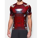 MAGLIA UNDER ARMOUR IRON MAN SUIT SS 1273694  ROSSO