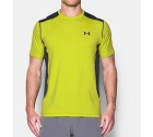 MAGLIA UNDER ARMOUR 1257466 RAID SS FITTED  GIALLO 0772