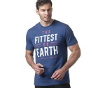 MAGLIA REEBOK CROSSFIT DN2391 FITTEST ON EARTH  BLU