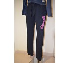 PANTALONE RUSSELL CUFFED BOTTOM APPLIQUE WOM  BLU NAVY