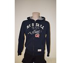 FELPA RUSSELL AUTHENTIC APPLIQUE  BLU NAVY