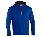 FELPA UNDER ARMOUR CHARGED COTTON STORM  BLU ROYAL