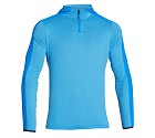 FELPA UNDER ARMOUR CP LW HOODED 1/4 ZIP 1271955  AZZURRO
