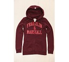 FELPA FRANKLIN MARSHALL FLWVA561W15  BORDEAUX