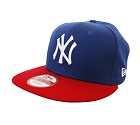 CAPPELLO NEW ERA 9FIFTY MLB COTTON BLOCK  BLU ROYAL